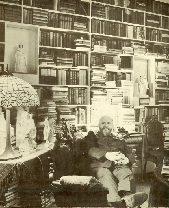 Francis Robinson at home, New York
