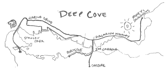 Deep-Cove-Map