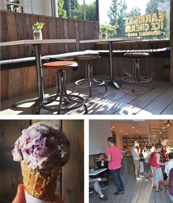 Earnest Ice Cream is located at 3992 Fraser St. in Vancouver, BC | 604.428.0697 | www.earnesticecream.com