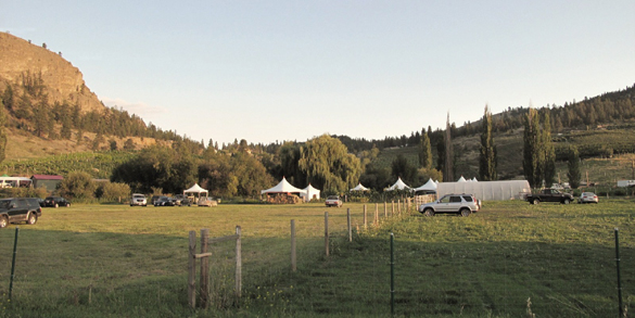 Valentine Farm in Summerland, host of the 1st Okanagan Feast of Fields