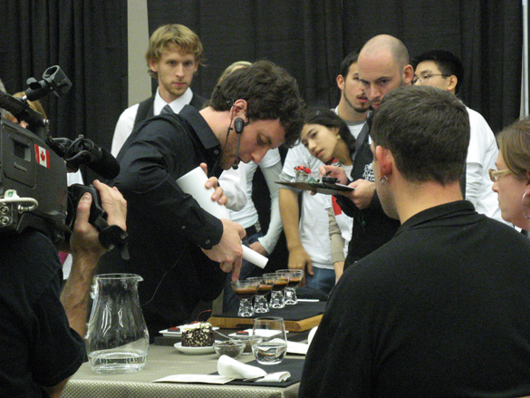 Barista Kyle Straw Wins Seventh Annual Canadian Barista Championships