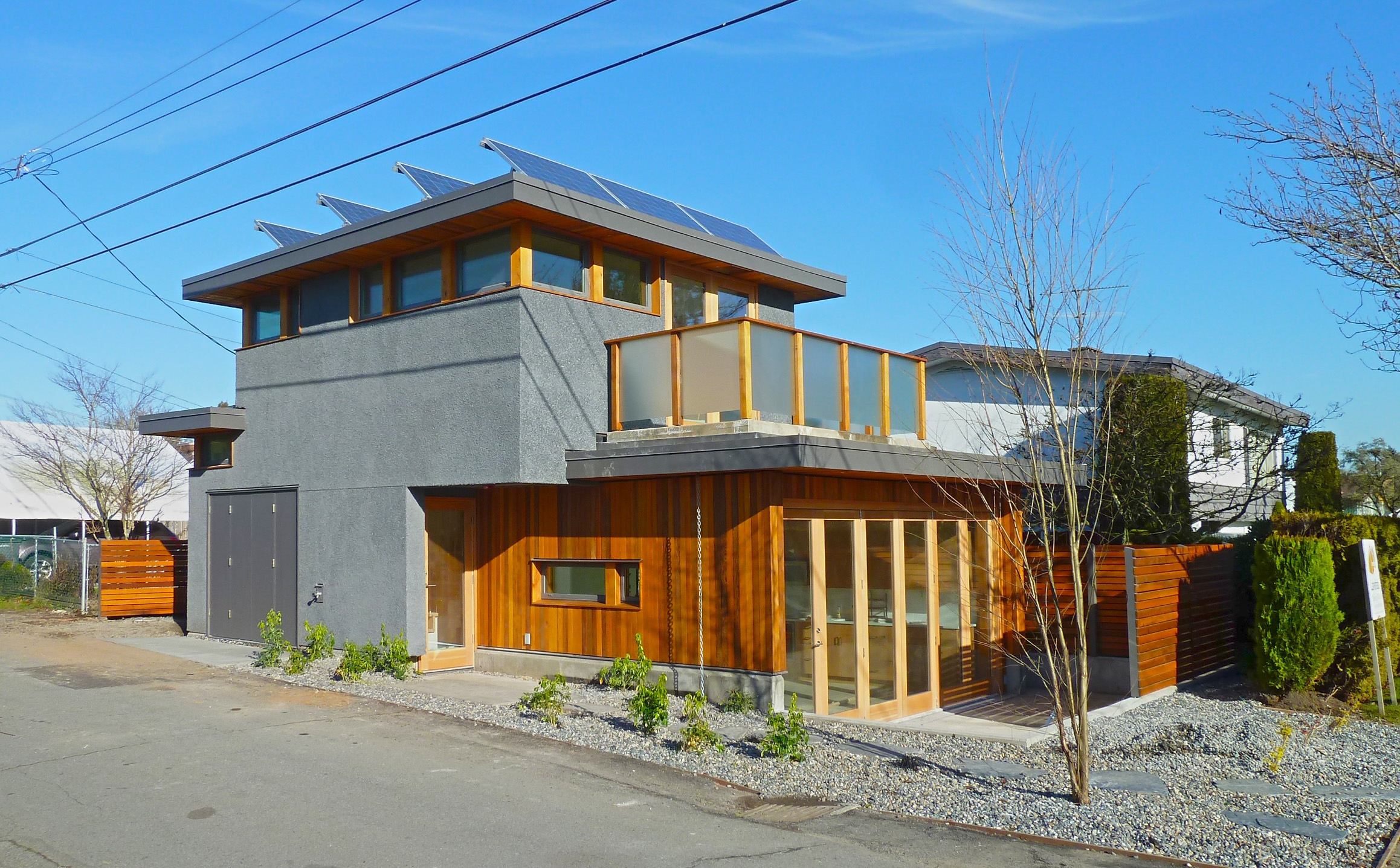 Honour bound visit vancouver 39 s first net zero solar for Net zero home