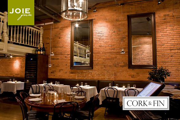 Cork & Fin is located at 221 Carrall Street in the heart of Vancouver's Gastown | 604-569-2215 | corkandfin.ca