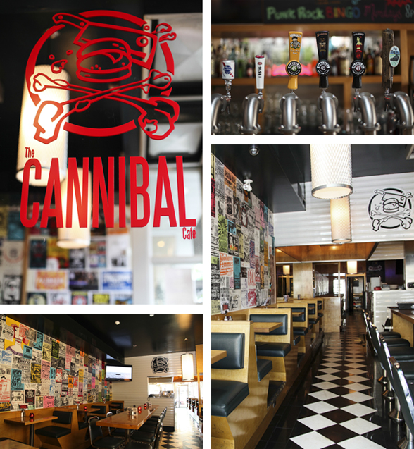 The Cannibal Cafe is located at 1818 Commercial Drive in Vancouver BC | 604-558-4199 | www.cannibalcafe.ca